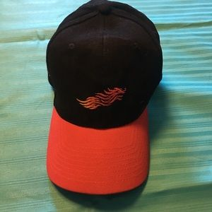 Flames Baseball Hat